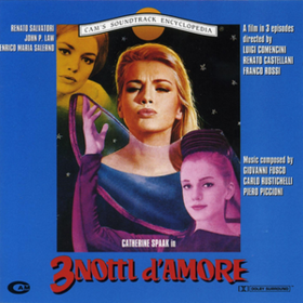 3 Notti D'amore Piero Piccioni