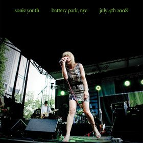 Battery Park, NYC: July 4th 2008 Sonic Youth
