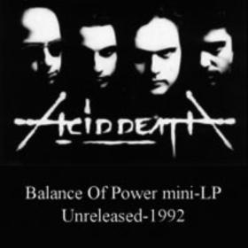 Balance Of Power Acid Death