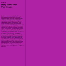 Pipe Dreams Mary Jane Leach