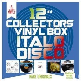 """12"""" Collector's Vinyl Box: Italo Disco (Box Set) Doctor's Cat/ Body Power/ City-O"""