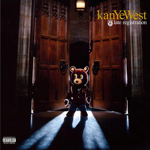 """Виниловая пластинка Kanye West - """"Late Registration"""". Купить винил с  доставкой по Киеву и Украине"""