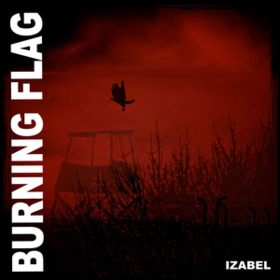 Izabel Burning Flag