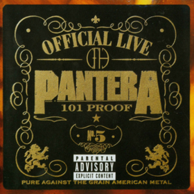 Official Live 101 Proof Pantera