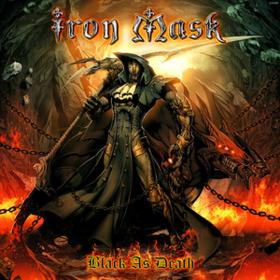 Black As Death Iron Mask