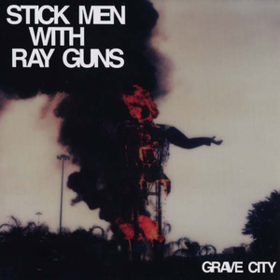 Grave City Stick Men With Ray Guns