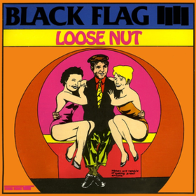 Loose Nut Black Flag