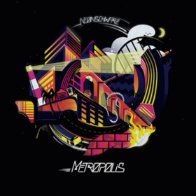 Metropolis Neonschwarz