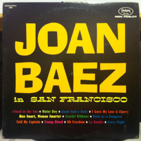 In San Francisco Joan Baez