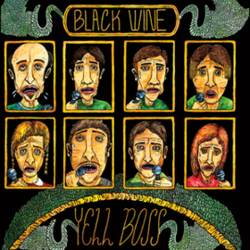 Yell Boss Black Wine