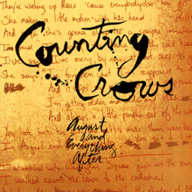 August & Everything After Counting Crows