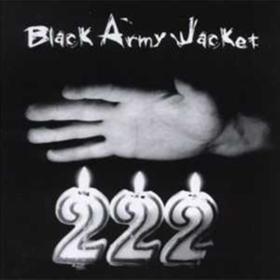 222 Black Army Jacket