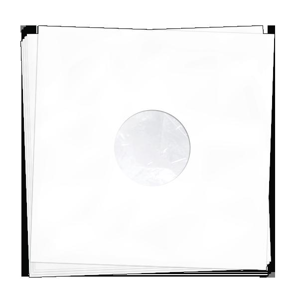 "Антистатические конверты для 12"" пластинок 20 шт (White)"