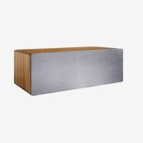 B2 Zebrawood Audioengine