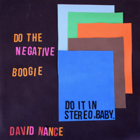 Negative Boogie David Nance