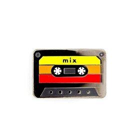 Mix Tape Pin Vinyla Pins