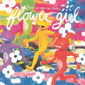 Tuck In Yer Tie-dye! Flower Girl
