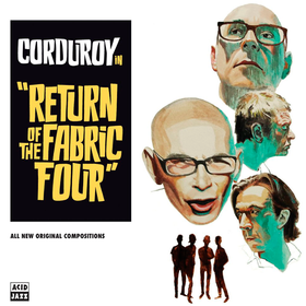 Return of the Fabric Four Corduroy