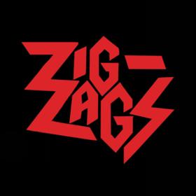 Running Out Of Red Zig Zags
