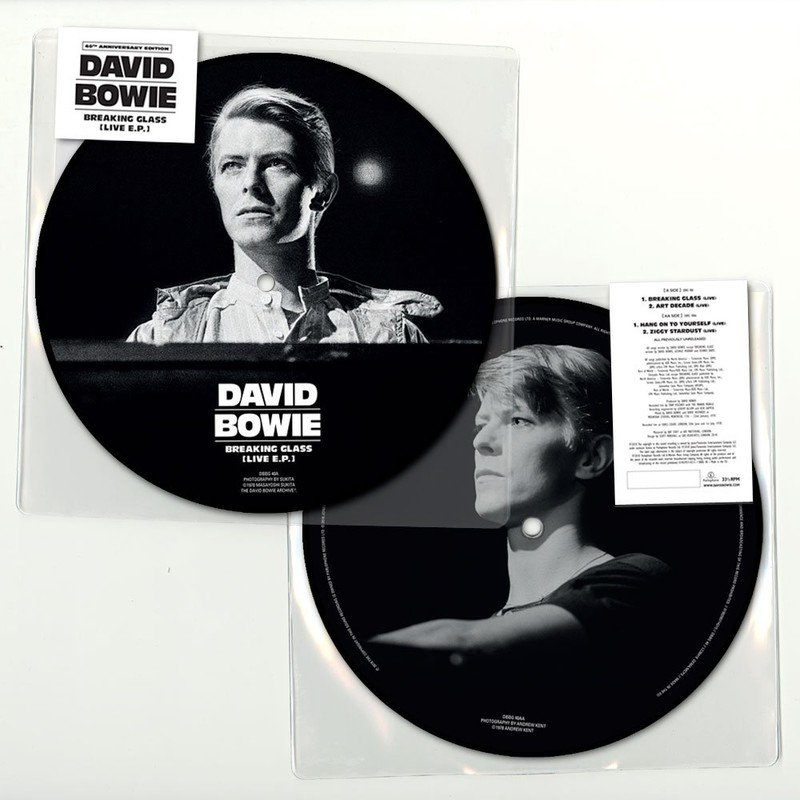 Breaking Glass (Live E.P.) (Picture Disc)