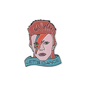 David Bowie Let's Dance Vinyla Pins