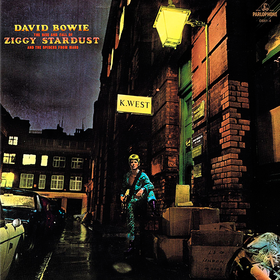 The Rise And Fall Of Ziggy Stardust And The Spiders From Mars David Bowie