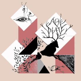 Summer Of Sepia Eagle/Deer