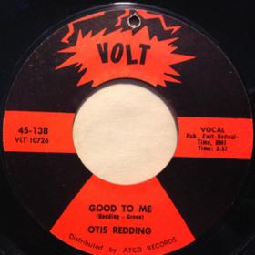Good To Me Otis Redding