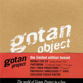 Gotan Object (Box Set, Limited Edition) Gotan Project