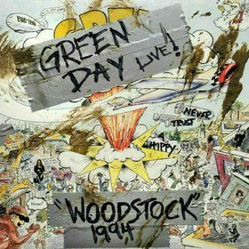 Woodstock 1994 (Limited Edition) Green Day