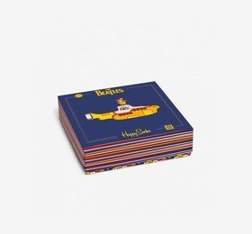 The Beatles Socks Box Set (Limited Edition 3 Pairs) Happy Socks