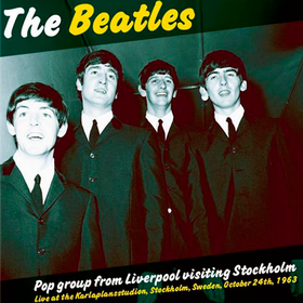 Pop Group For Liverpool Visiting Stockholm The Beatles