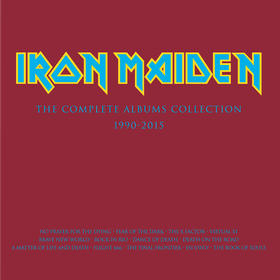 The Complete Albums Collection 1990-2015 Iron Maiden
