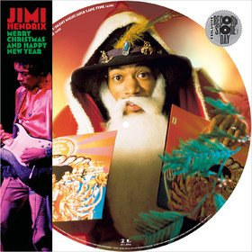 Merry Christmas And Happy New Year (Picture Disc) Jimi Hendrix
