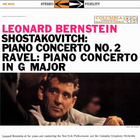Shostakovitch: Piano Concerto No. 2, Op. 101/Ravel: Piano Concerto In G Major Leonard Bernstein