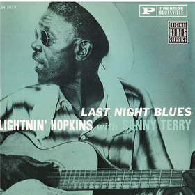 Last Night Blues Lightnin' Hopkins