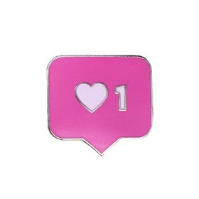 Like Pink Pin Vinyla Pins