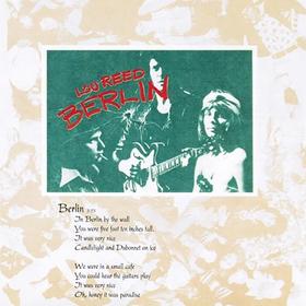 Berlin Lou Reed