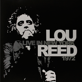 Live In New York 1972 Lou Reed