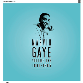 Volume One 1961 - 1965 Marvin Gaye