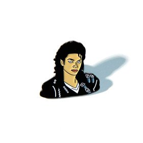 Michael Jackson Pin Vinyla Pins