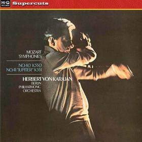 "Mozart Symphonies No. 40 K.550; No. 41 ""Jupiter"" K.551 W.A. Mozart"