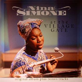 At The Village Gate Nina Simone