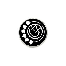 Nirvana Smile Face Silver Vinyla Pins