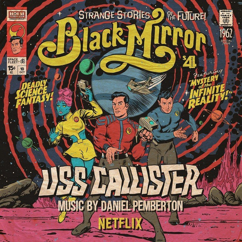 Black Mirror: Uss Callister (Limited Edition)