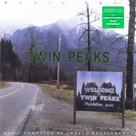Music From Twin Peaks (By Angelo Badalamenti) Original Soundtrack