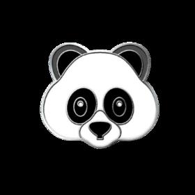 Emoji Panda PICO Pins