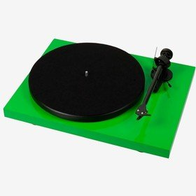 Debut Carbon Phono USB (OM 10) Green Pro-Ject