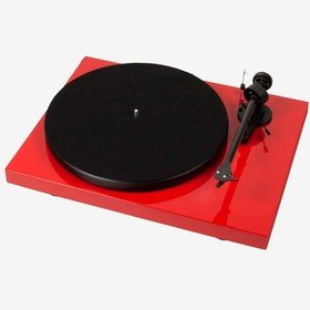 Debut Carbon Phono USB (OM 10) Red Pro-Ject
