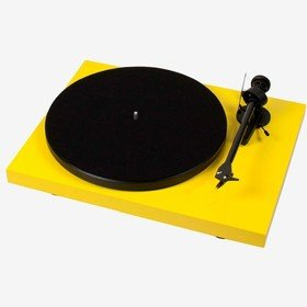 Debut Carbon Phono USB (OM 10) Yellow Pro-Ject